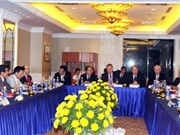 越南祖国阵线中央委员会主席阮善仁会见德国驻越大使