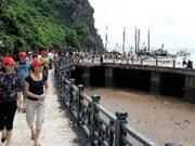 2014年下龙—广宁旅游周接待游客量可达50万人次