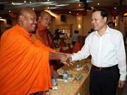越南政府副总理武文宁向高棉族同胞致以节日祝福