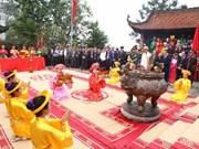 富寿省举行敬香仪式向雒龙君始祖和瓯姬国母表达知恩