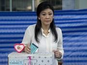泰国看守总理英拉指控宪法法院越权