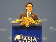 越南愿同世界各国加强合作 实现互利共赢