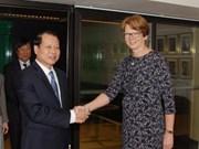 武文宁副总理对瑞典进行正式访问