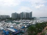 越南参加在新加坡举行的亚洲最具规模游艇展