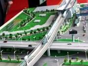 越南河内市与韩国公司合作修建市内高架铁路