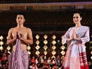 """2014年顺化文化节:11个国家传统服装亮相""""东方之夜""""绚丽舞台"""