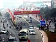 立交桥为缓解河内市交通拥堵作出贡献