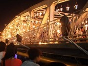 2014年顺化文化节:火光装置艺术亮相长钱桥