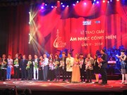 """越南2014年""""音乐贡献奖""""结果揭晓"""