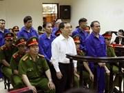 越南航海总公司贪污案:保留杨志勇等的罪名和处罚