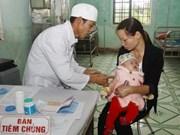 越南胡志明市开展一系列预防麻疹病疫爆发