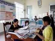越南庆和省长沙岛县生存岛乡文化邮政站正式成立