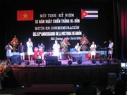 古巴吉隆滩战役胜利53周年纪念典礼在海阳省举行