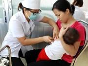 越南安江省积极展开麻疹查漏补种和麻疹防空工作