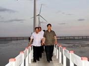 阮晋勇总理:薄辽省应注重发展水产业,推进风力发电厂如期保质完成