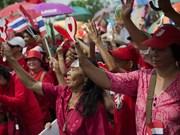 泰国看守政府担忧首都曼谷可能发生暴力危机