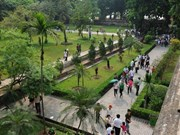 越南首都河内升龙皇城遗迹区D区地面正式交接