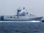 文莱皇家海军军舰访问越南海防市