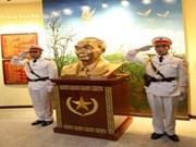 武元甲大将铜像在奠边府历史胜利博物馆安放