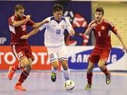 2014年亚洲五人制足球锦标赛正赛:日本队、泰国队展示强劲实力