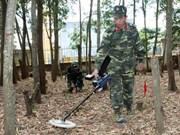 越南致力于克服遗留爆炸物危害