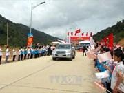 越南奠边省边界环路正式功能性通车