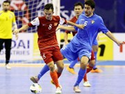 2014年亚洲五人制足球锦标赛:越南队入围半决赛