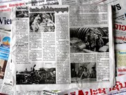 老挝媒体纷纷刊登庆祝奠边府大捷60周年文章