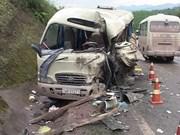 假期间越南全国共发生224起交通事故 致117人死亡151人受伤