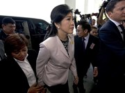 泰国总理英拉出席宪法法院听证会 否认滥用职权