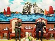 文莱国防学院代表团访问越南