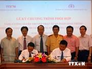 越南通讯社与国家交通安全委员会签署合作协议