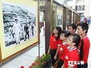 纪念胡志明主席诞辰124周年图片展拉开序幕
