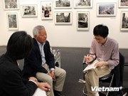"""题为""""越南战争与和平50年""""图片展在日本举行"""