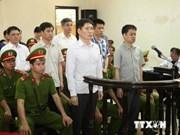 越南最高人民法院开庭复审杨自仲和同案嫌犯人