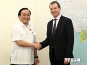 黄忠海副总理会见《濒危野生动植物种国际贸易公约》秘书长