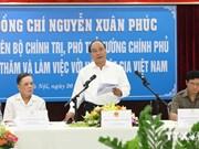 越南政府副总理同越南律师协会举行会议