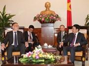 越南政府副总理范平明会见德国外交部国务秘书