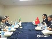 越南与阿尔及利亚加强体育合作