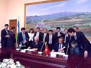 越南最高人民法院院长张和平率团访问乌兹别克斯坦