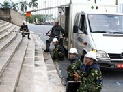 越南与俄罗斯加强工兵合作