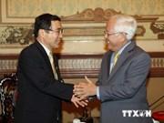 越南胡志明市与日本鹿儿岛市加强合作