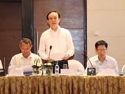 越南河内市领导会见越南新任驻国外首席代表代表团