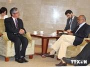 越南和新加坡外交部举行第八次政治磋商会议