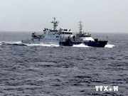 现场报道:中国飞机在越南海上执法船只上空进行监视