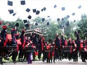 越南大学生岁月的印记