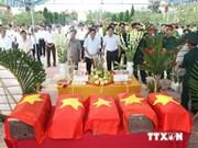 越南注重确认无名烈士的身份
