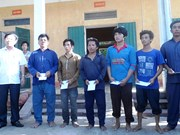 中国之前扣留的13名越南渔民已安全回国