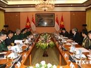 越南与新加坡国防政策对话在越南举行