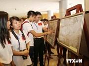"""""""越南黄沙、长沙——历史证据""""专题展会在北江开展"""